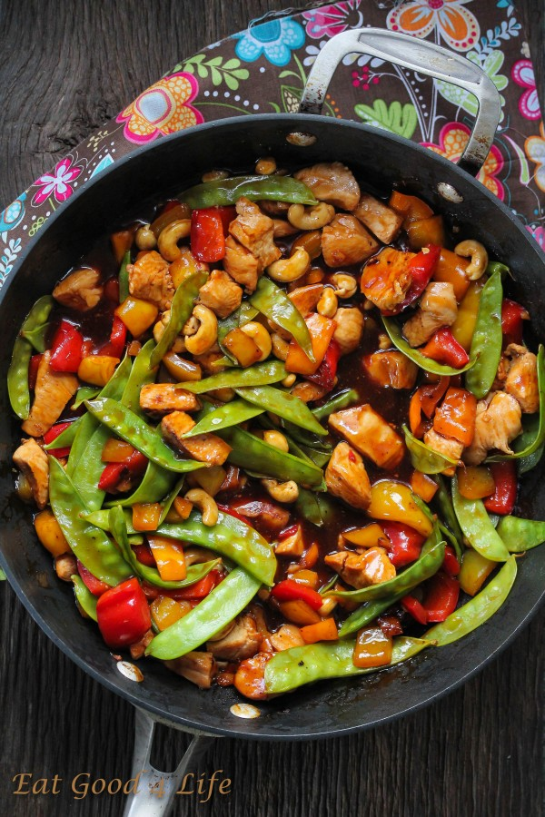 Not only this Kung Pao Chicken recipe was super good but it just took ...