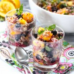 quinoa mixed fruit salad