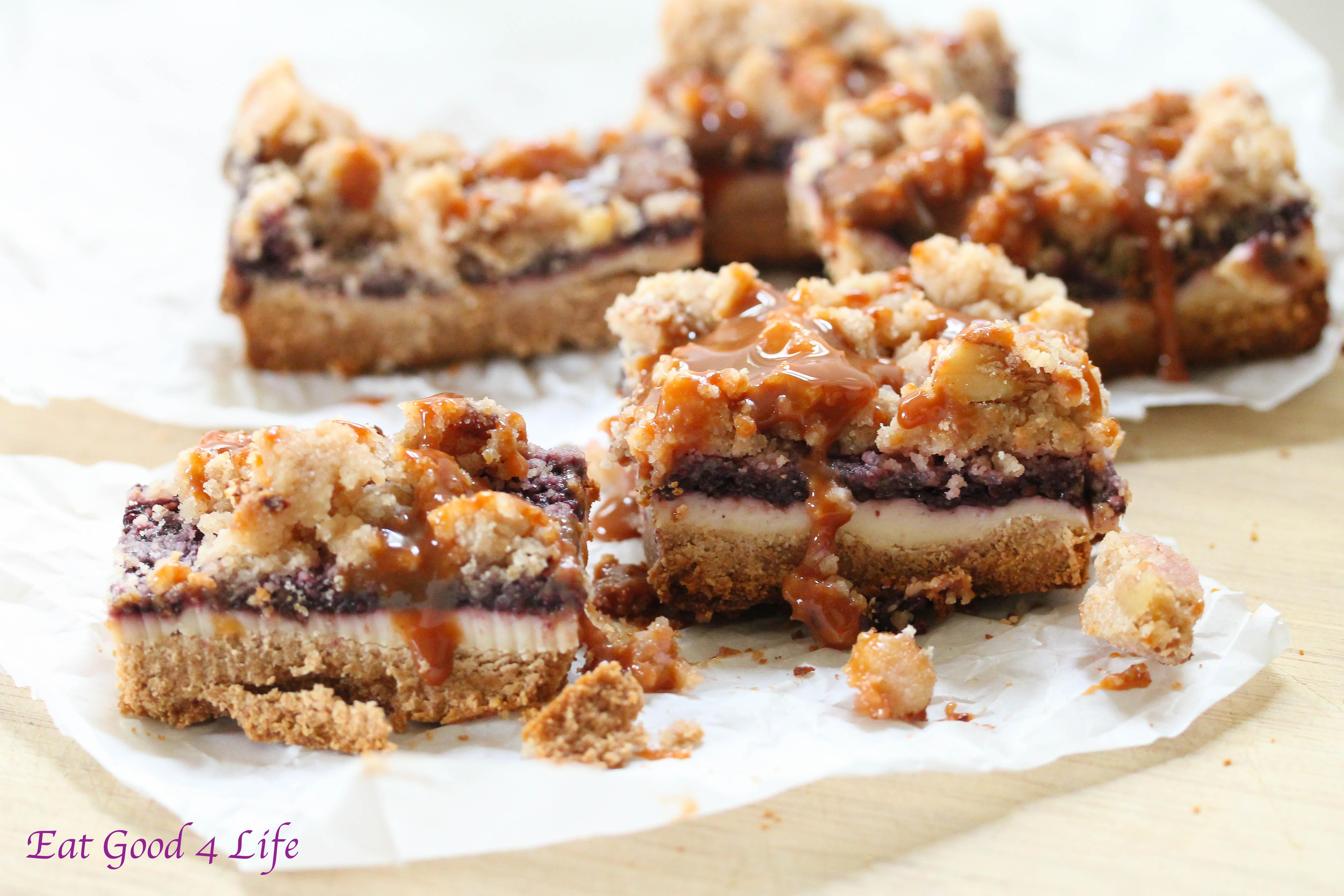 gluten free berry cheesecake bars