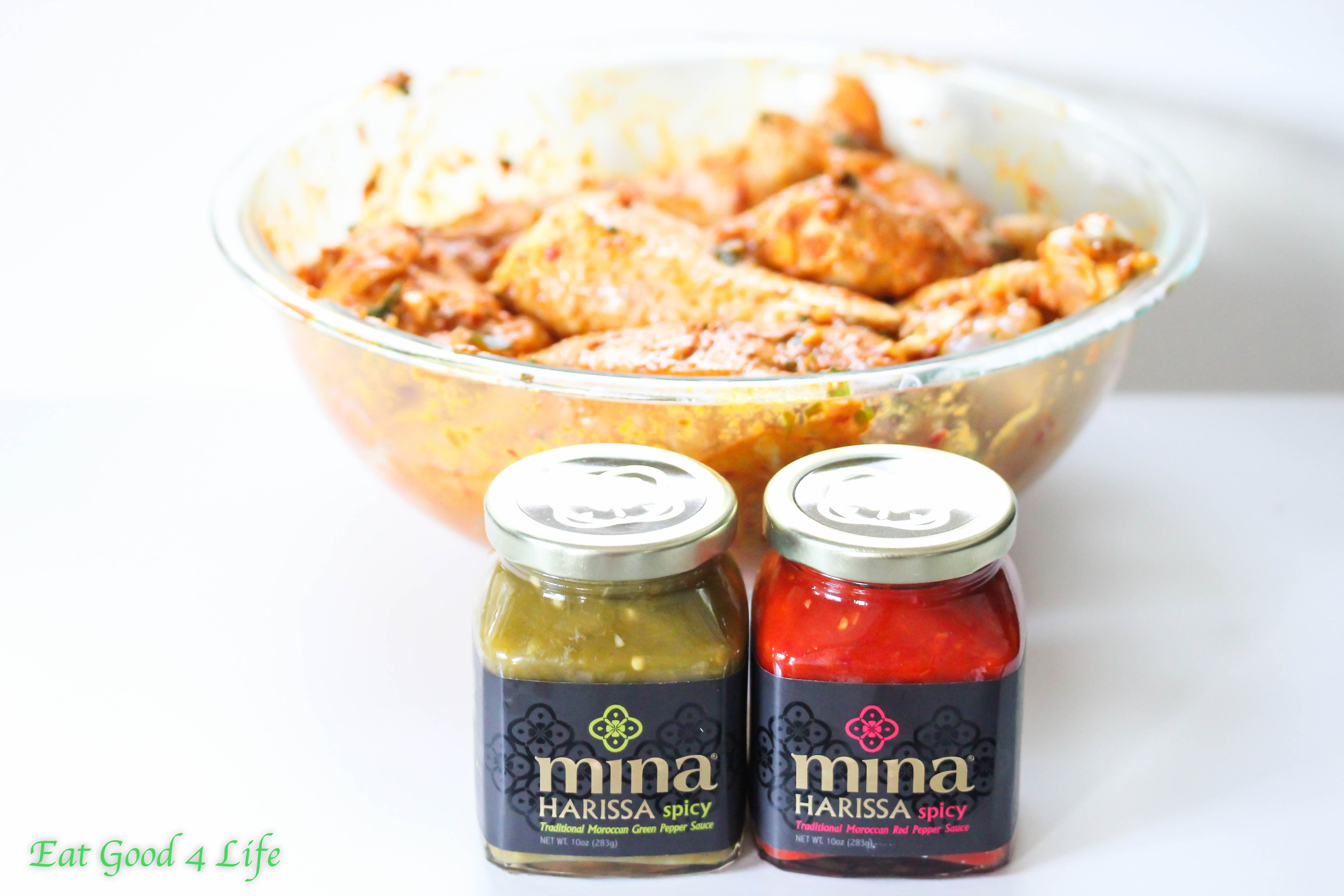 Mina Harissa Moroccan grilled chicken