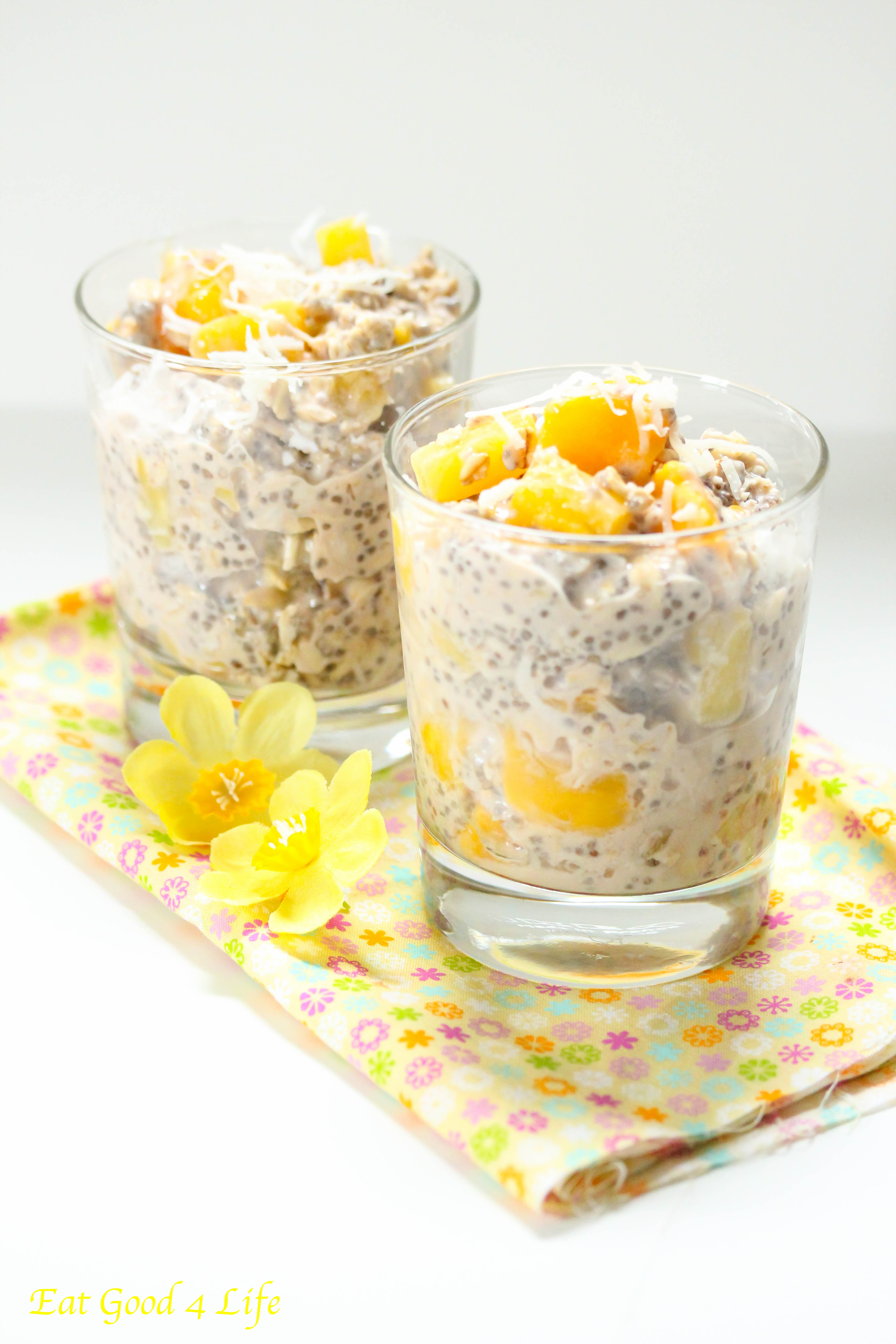 Overnight tropical oats