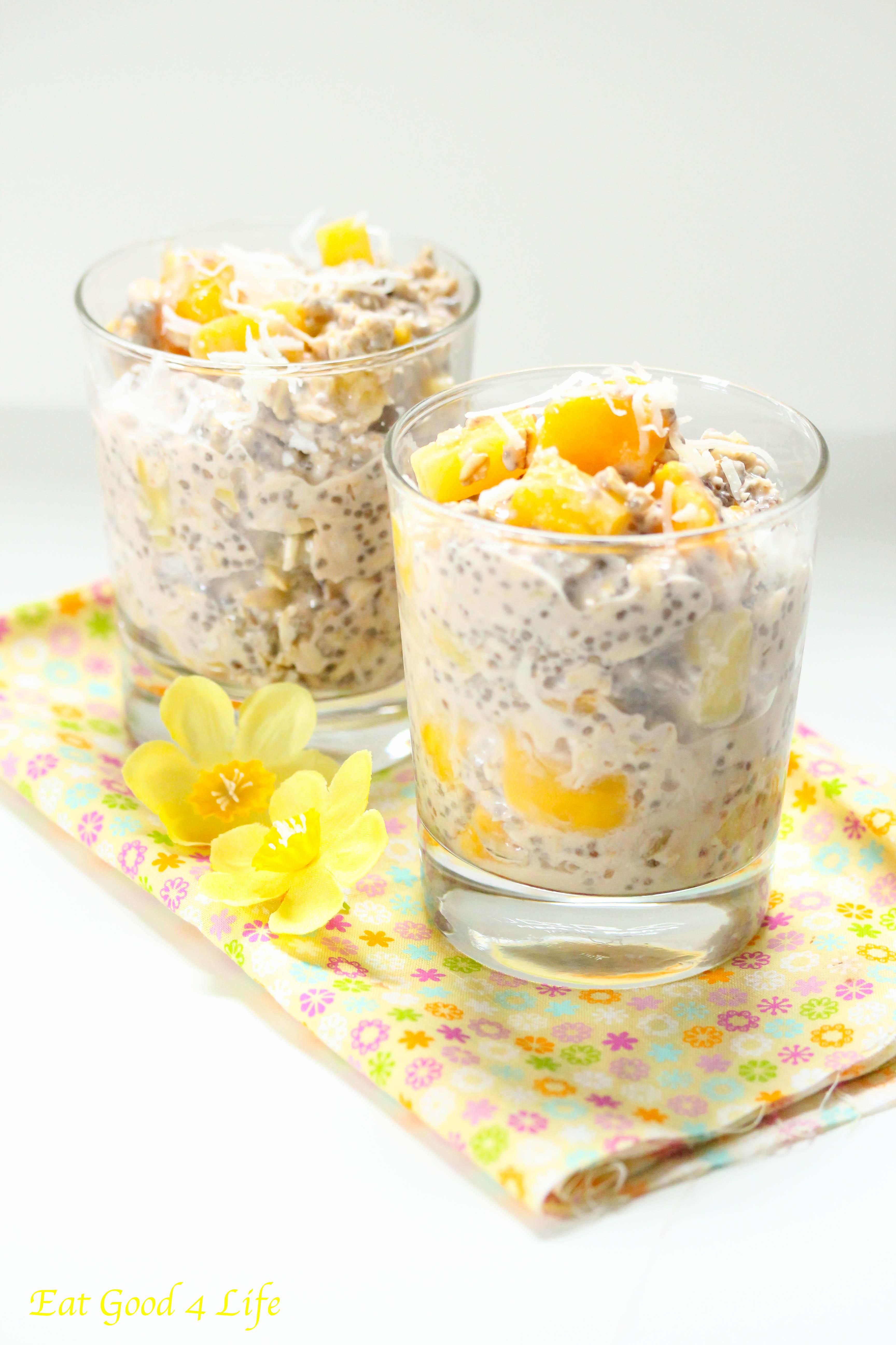 Overnight tropical oats