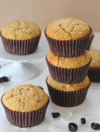 Gluten free coconut blueberry muffins