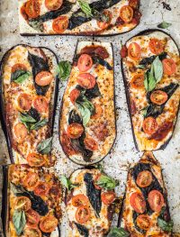 eggplant pizza | Eat Good 4 Life