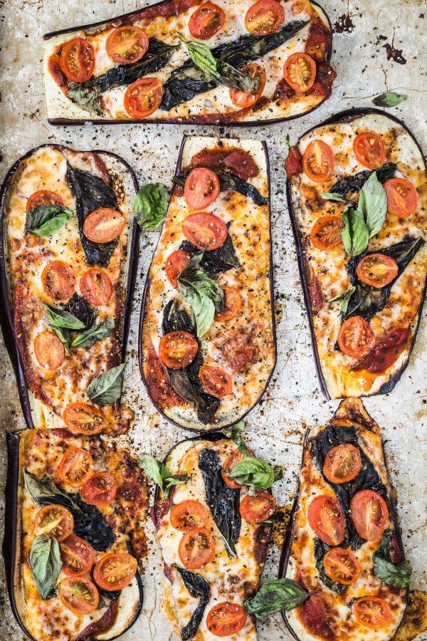 eggplant pizza | Eat Good 4 Life