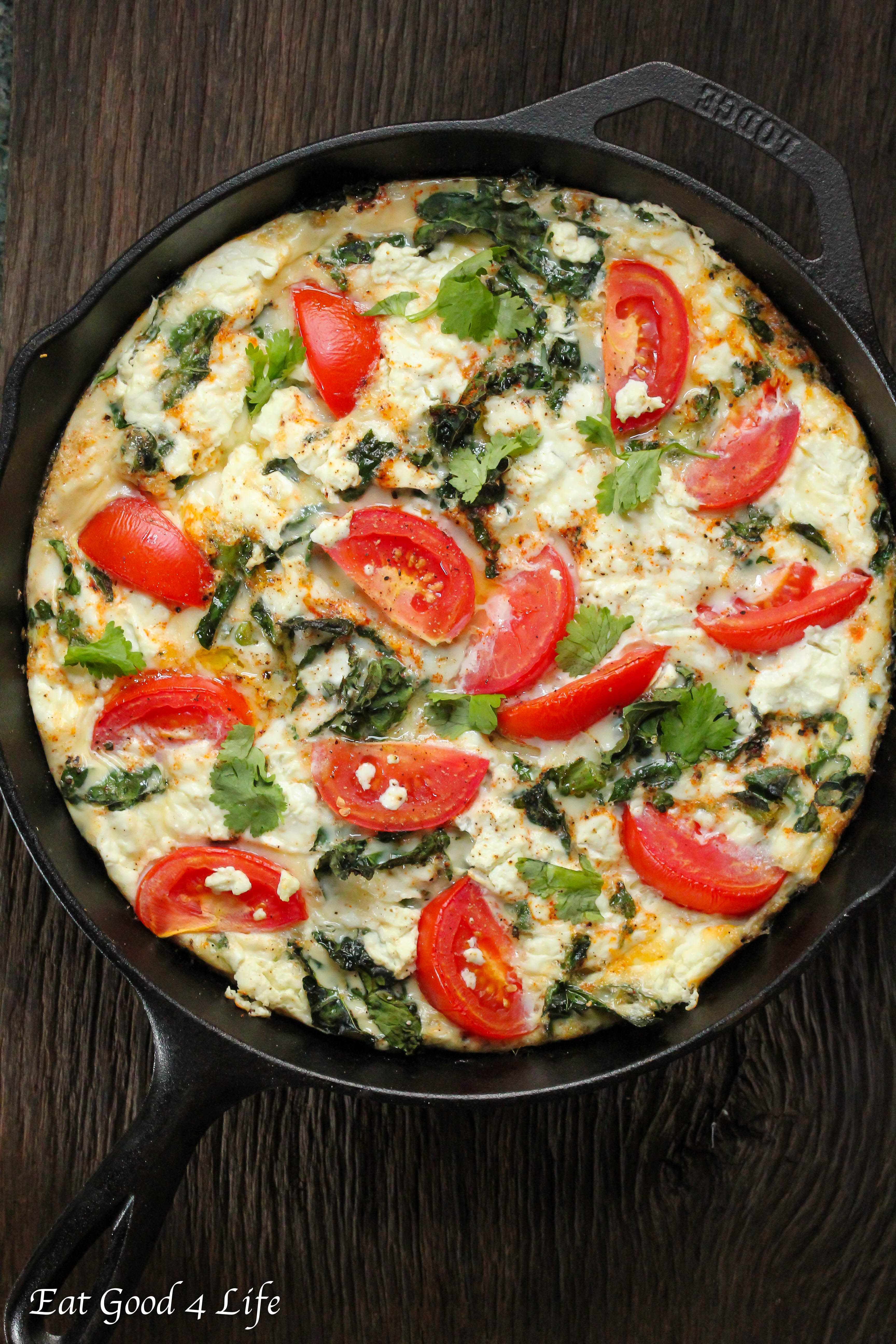 ... tomato frittata is an example. We loved this combination and my