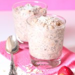 Strawberry and banana overnight oats