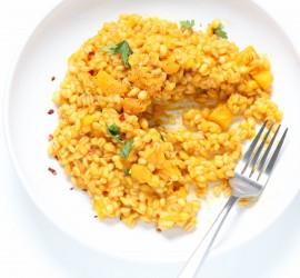 pumpkin-barley-risotto