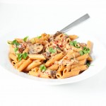 Creamy-tomato-pasta-with-sun-dried-tomatoes