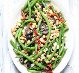 green-bean-chickpea-tomato-salad