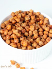 garlic roasted parmesan chickpeas