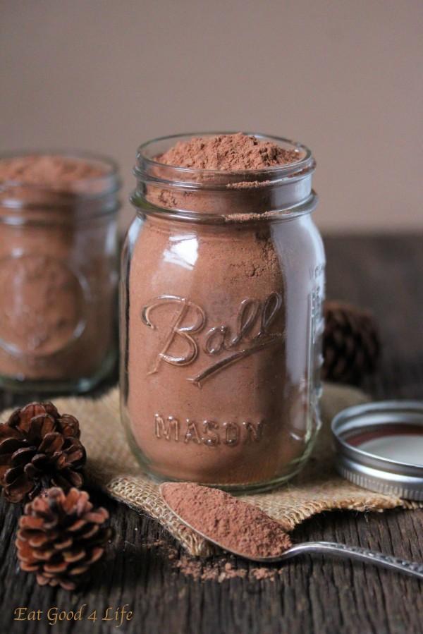 healthier hot cocoa mix