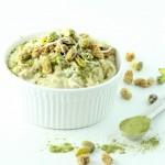 moringa oatmeal-Gluten free and vegan