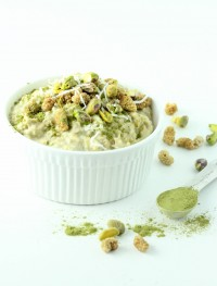 moringa oatmeal-Gluten free and vegan