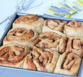 whole wheat rolls baked