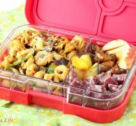 tortellini yumbox lunch recipe