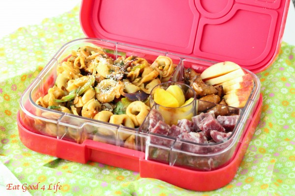 tortellini yumbox lunch recipe