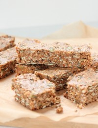 No bake protein bars- Gluten free and vegan