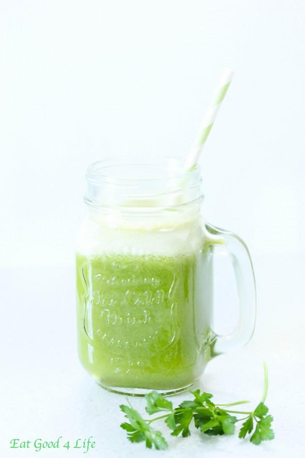 super refreshing green juice