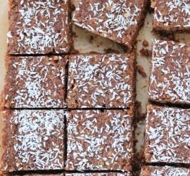 gluten free chocolate rice crispy treats