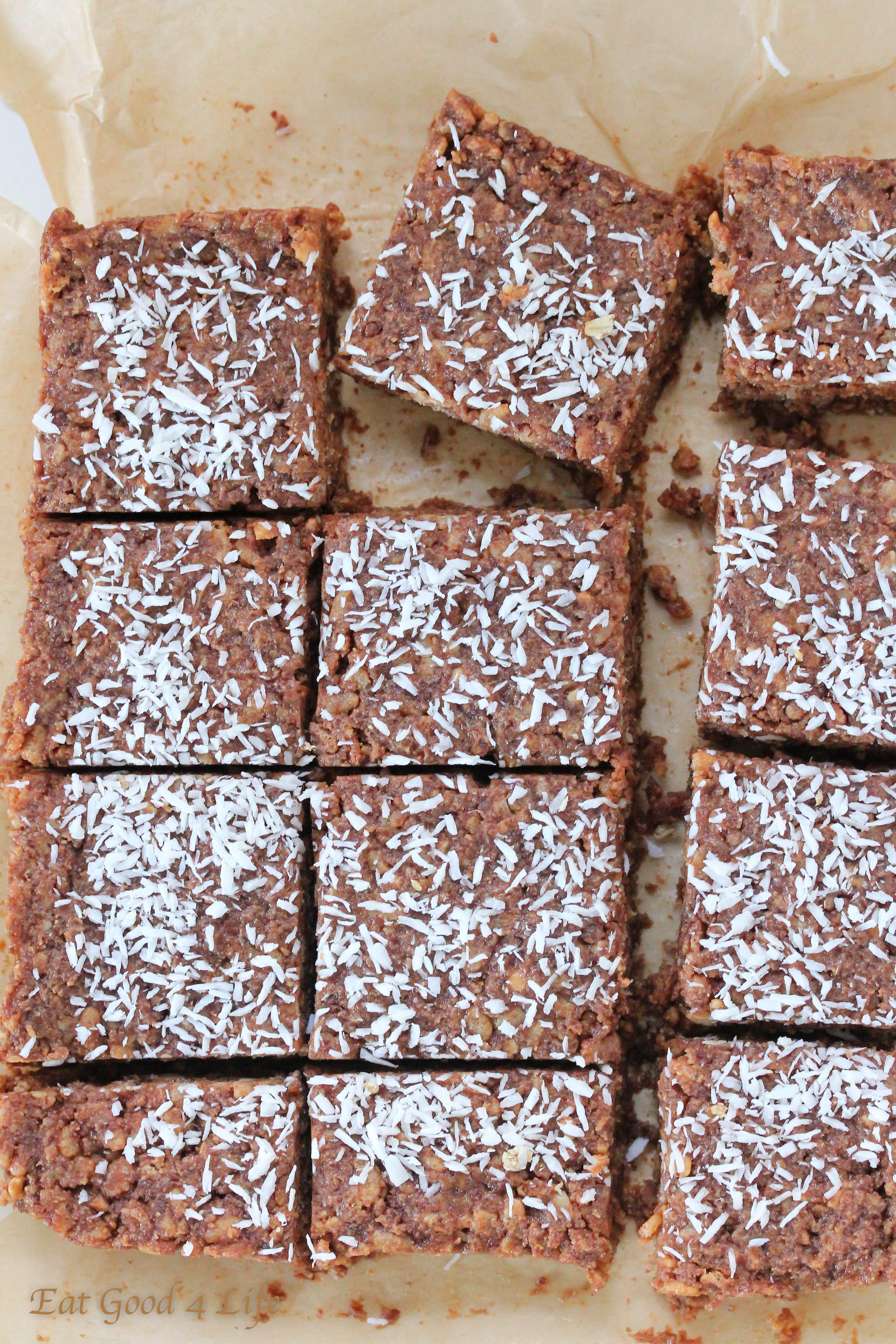 Chocolate rice crispy treats