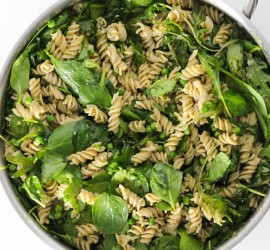 gluten free spinach and kale pasta