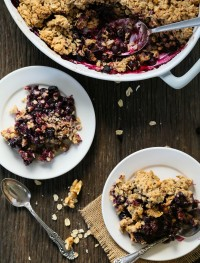 Gluten free blueberry crisp | Eat Good 4 Life