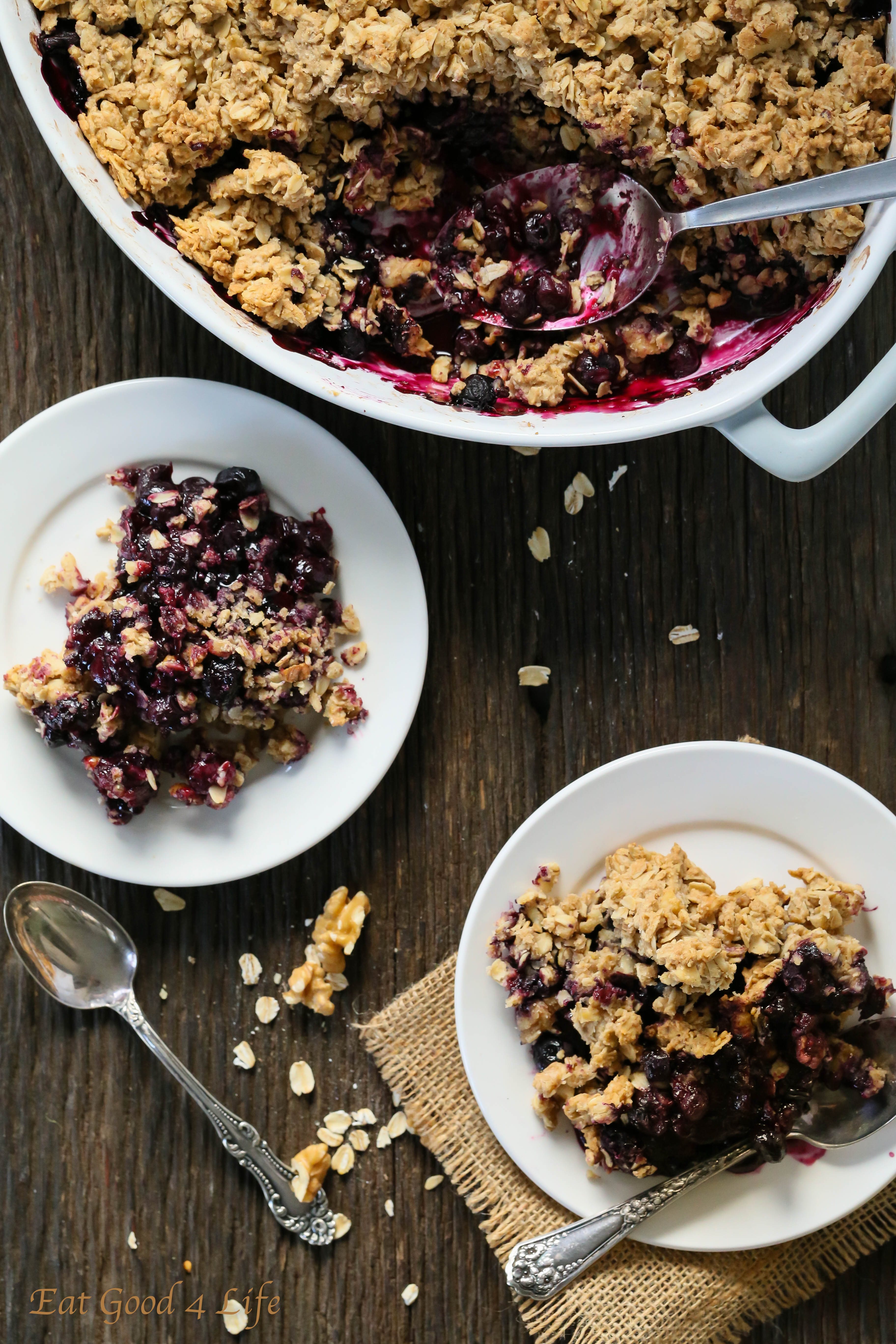 Sugar and Spice Blueberry Crisp recommend