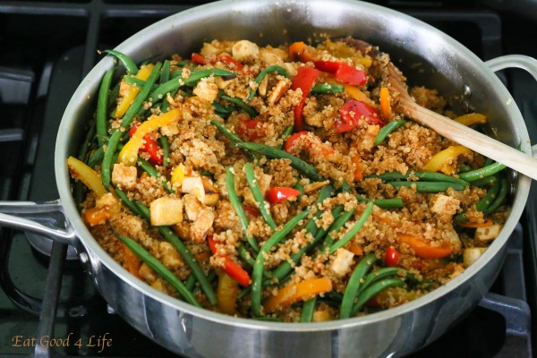 Dirty Thai fried quinoa | Eat Good 4 Life