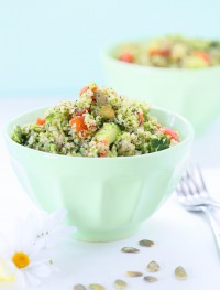 Broccoli quinoa salad | Eat Good 4 Life