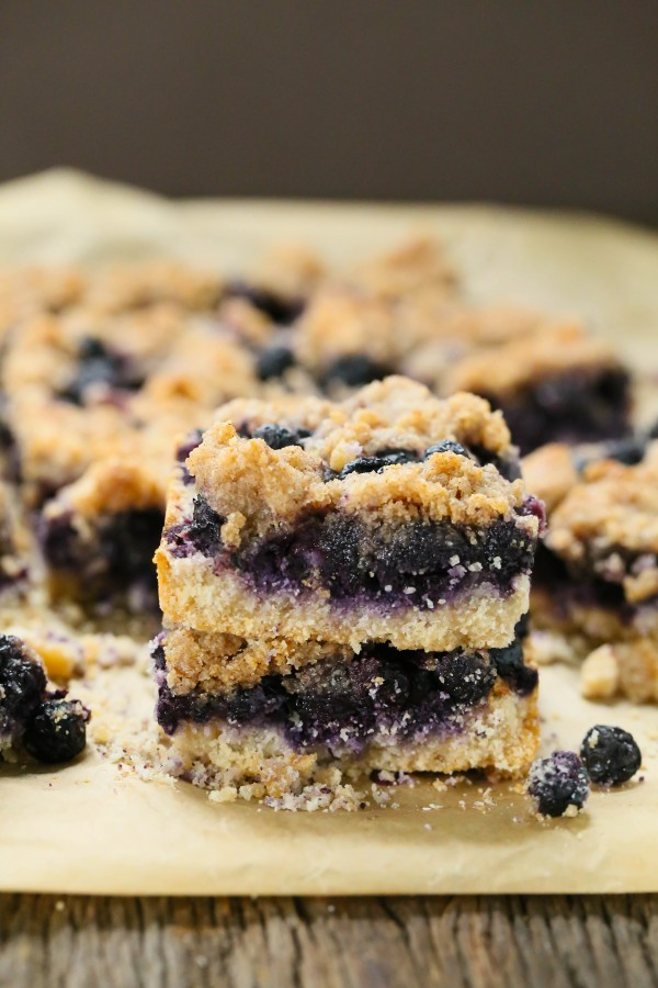 Blueberry Crumb Bars - Gluten free and vegan   Eat Good 4 Life