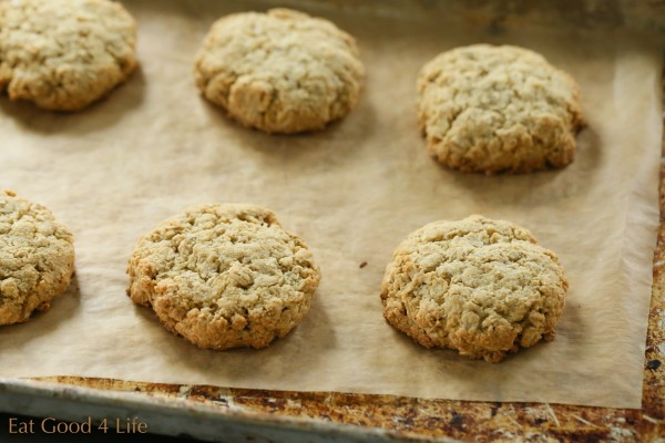 Almond oat cookies, gluten free   Eat Good 4 Life