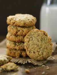 almond-oatmeal-cookies