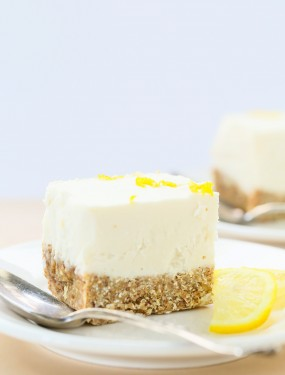 Gluten free no bake lemon cheesecake | Eat Good 4 Life