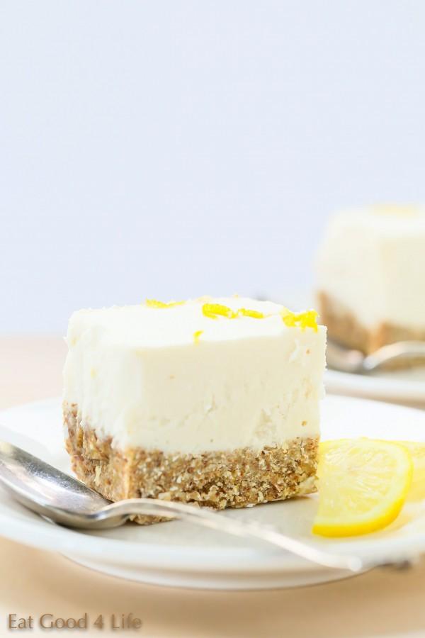 Gluten free no bake lemon cheesecake | Eat Good 4 Life