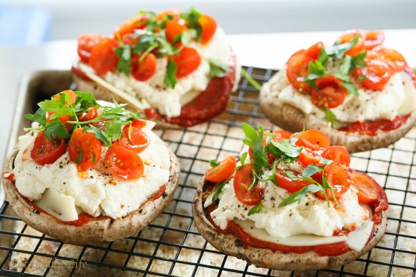 Stuffed portobello pizza | Eat Good 4 Life