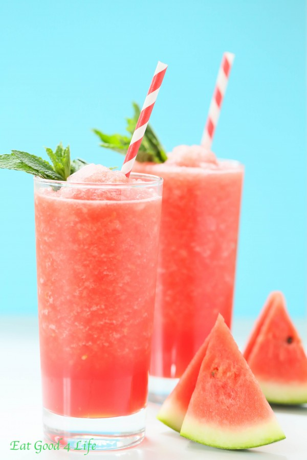 watermelon lemon slush | Eat Good 4 Life