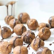 3 ingredient almond butter bites | Eat Good 4 Life
