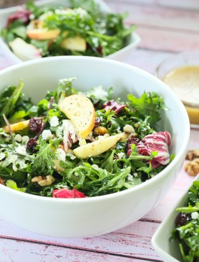 Walnut apple kale salad | Eat Good 4 Life