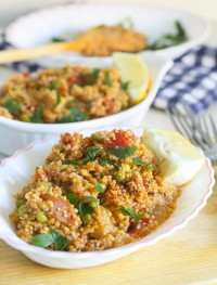 Quinoa chorizo paella | Eat Good 4 Life