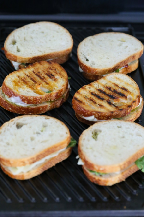 Grilled Cheese Sandwich With Sun-Dried Tomatoes And Harissa Recipes ...