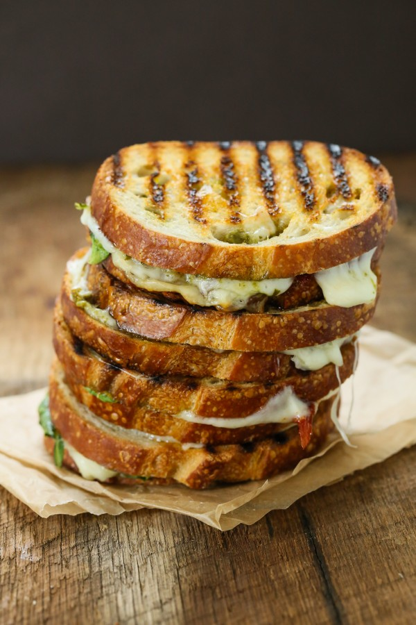 Sun dried tomato spinach grilled cheese sandwich | Eat Good 4 Life ...
