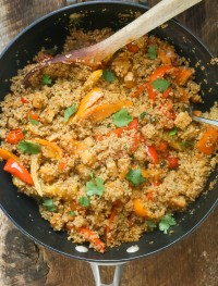 Quinoa Veggie Casserole | Eat Good 4 Life