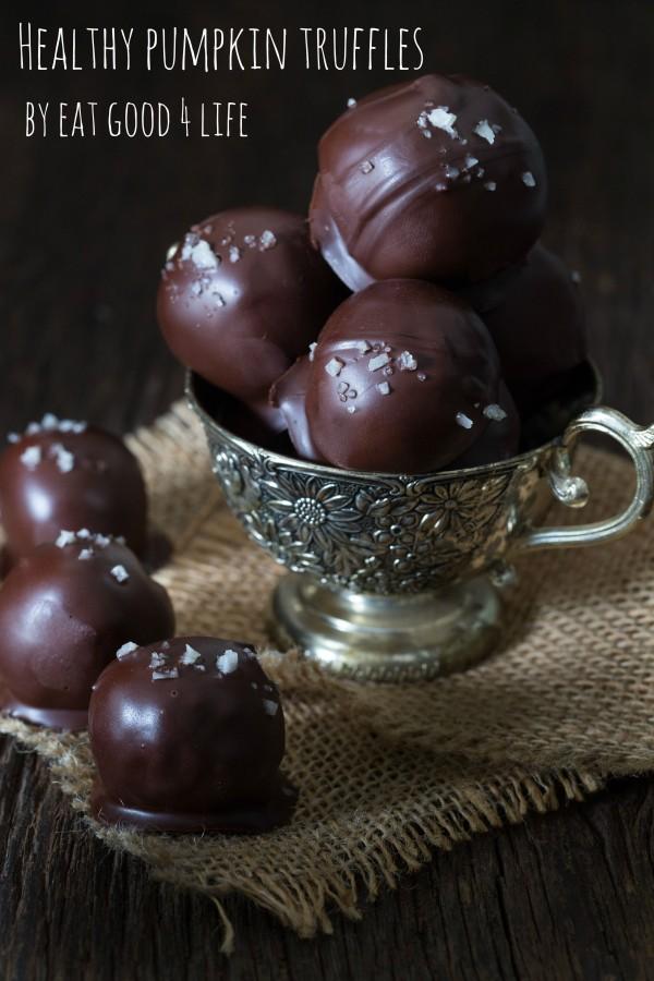 healthy pumpkin truffles   Eat Good 4 Life