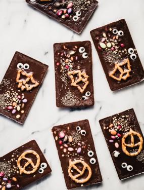 Homemade halloween chocolate | Eat Good 4 Life