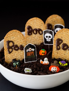Healthier halloween chocolate graveyard | Eat Good 4 Life