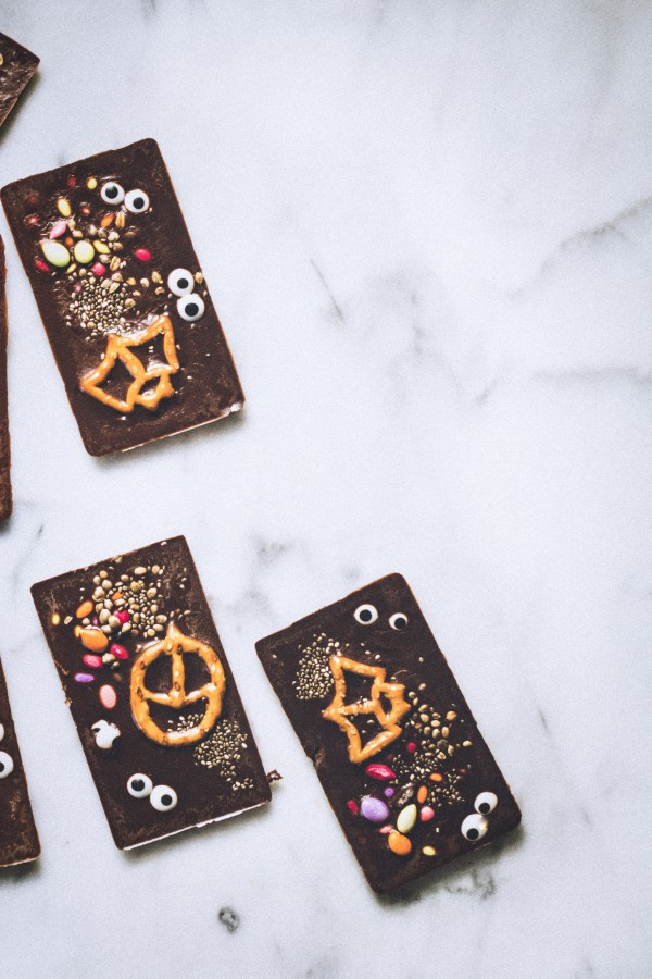Homemade halloween chocolate | Eat Good 4 Life
