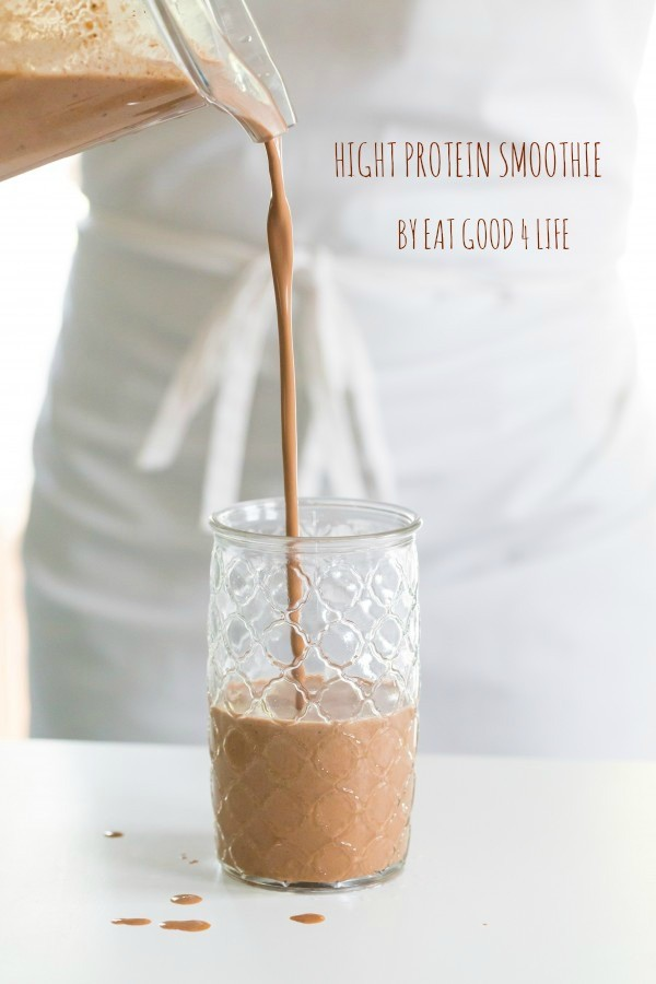 High protein smoothie | Eat Good 4 Life