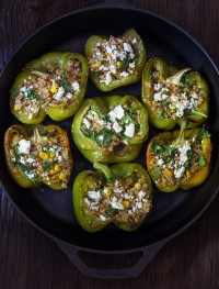 Quinoa stuffed peppers | Eat Good 4 Life