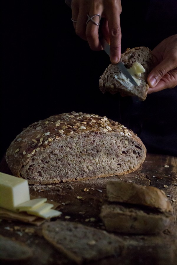 Easy crusty whole wheat bread | Eat Good 4 Life